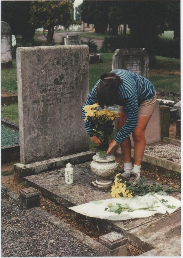 Emanuel Spitzer's Grave, Oxford, England